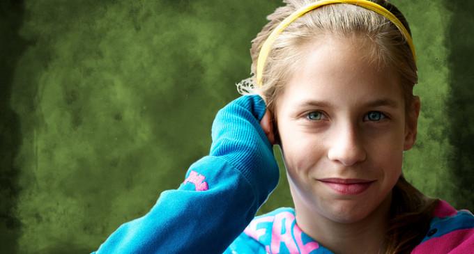 Meisjes met veel testosteron zelfbewuster en minder jaloers